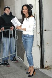 Padma Lakshmi - Stops by AOL Build to Promote Her Book New York 3/8/2016