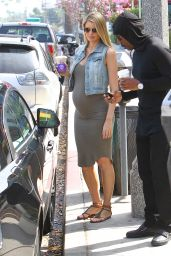 Paige Butcher Shows Off Baby Bump - Out in Los Angeles 3/2/2016