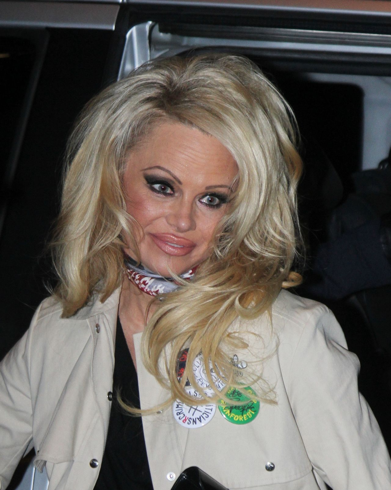 Pamela Anderson Leaving The Tv Show On N Est Pas Couch 233
