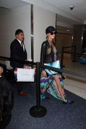 Paris Hilton at LAX Airport in Los Angeles 3/18/2016