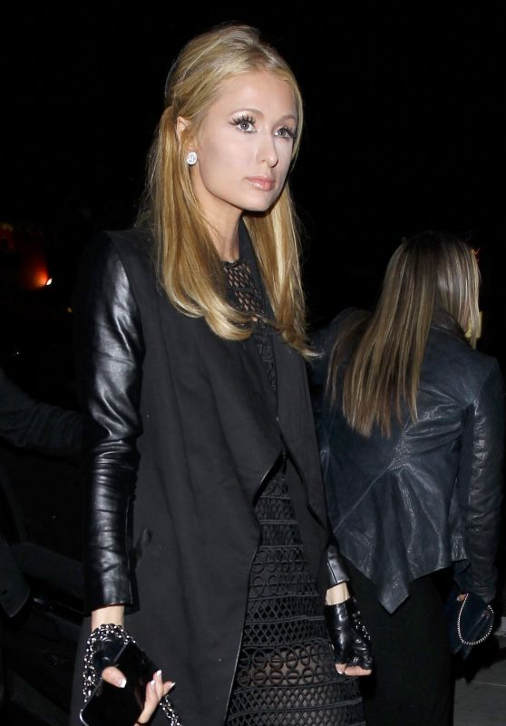 Paris Hilton at The Nice Guy in West Hollywood, March 2016