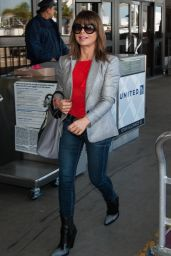 Paula Abdul at LAX Airport in Los Angeles, March 2016