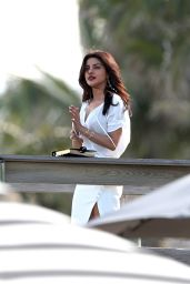 Priyanka Chopra - On Set of
