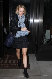 Rachel McAdams at Palm Restaurant in Beverly Hills 3/2/2016