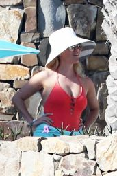 Reese Witherspoon in a Swimsuit in Cabo San Lucas, Mexico, 3/01/2016