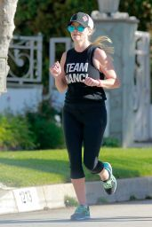 Reese Witherspoon -  Jogging in Los Angeles, CA 3/16/2016