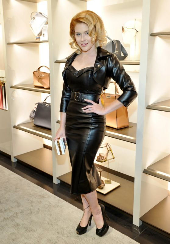 Renee Olstead - Fendi And Vogue Celebrate Fendi Beverly Hills in LA 3/24/2016
