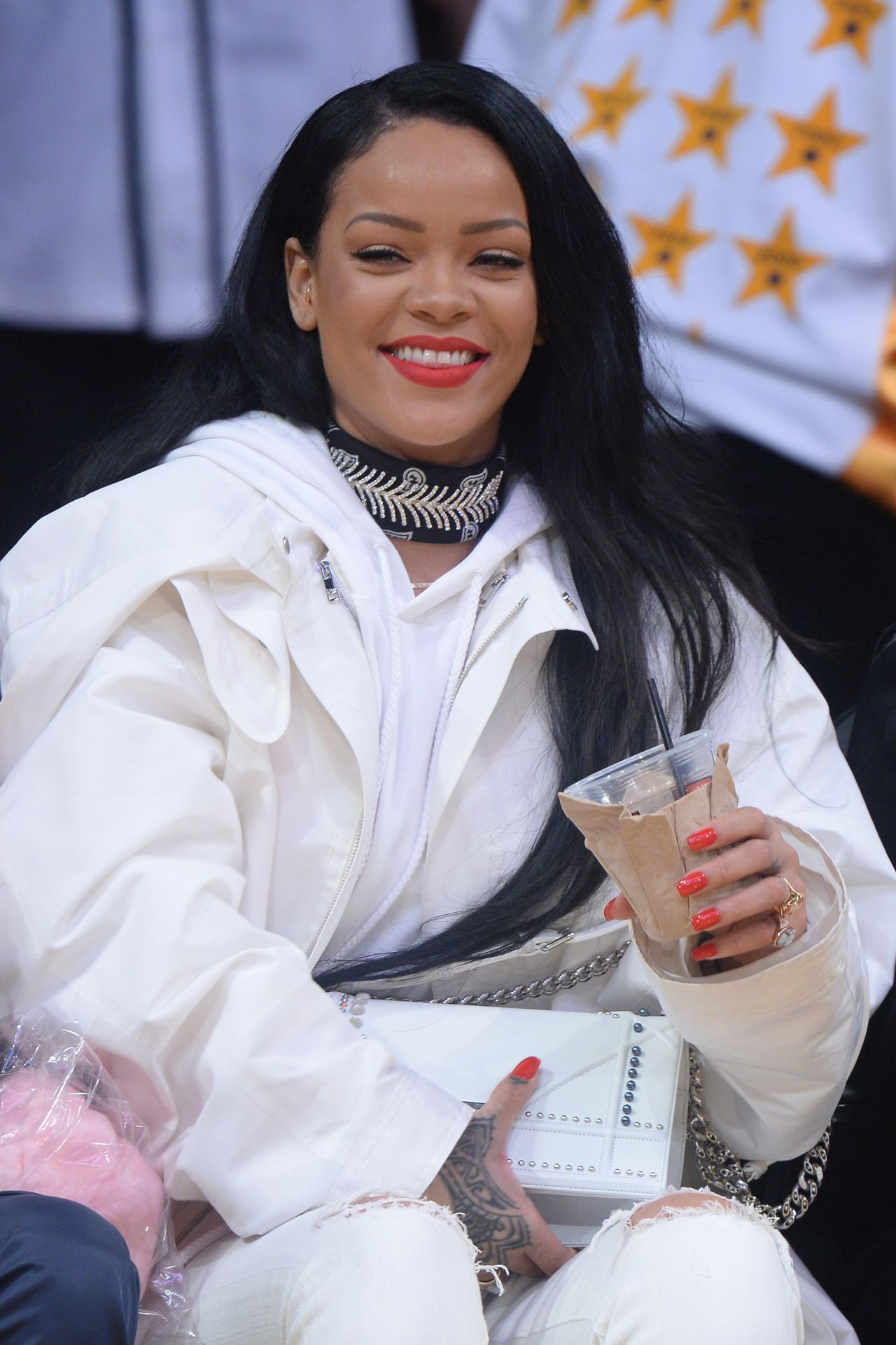 rihanna at a clippers game with her bff melissa forde in. Cars Review. Best American Auto & Cars Review