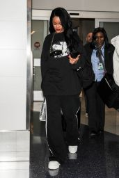 Rihanna at LAX Airport in Los Angeles, March 2016