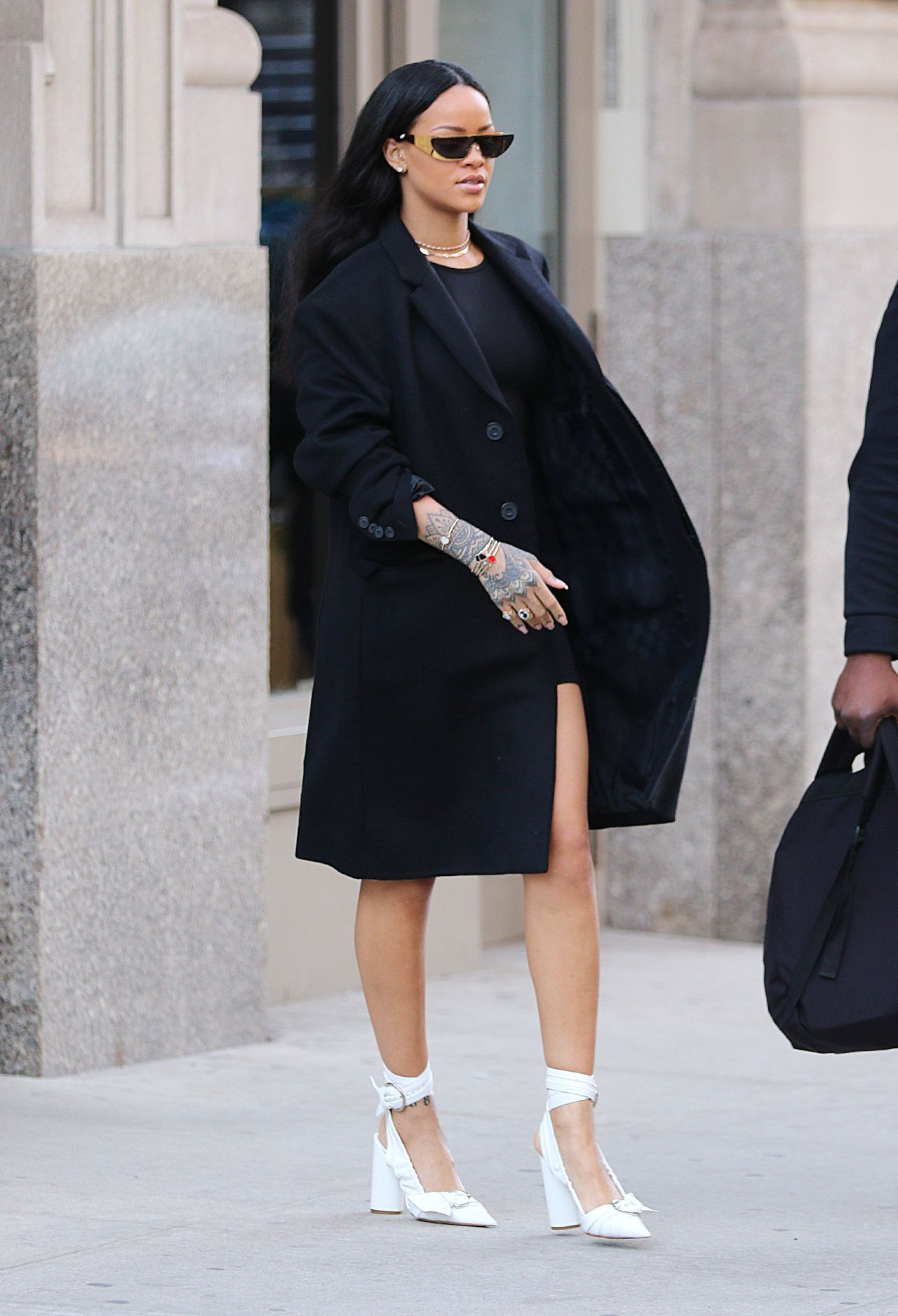Rihanna Street Fashion New York City 3 30 2016
