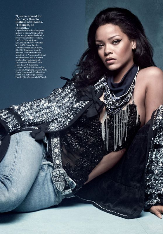 Rihanna – Vogue Magazine UK April 2016 Issue