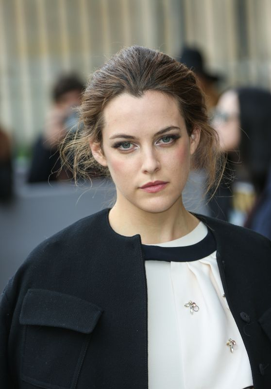 Riley Keough - Dior Fashion Show in Paris, March 2016