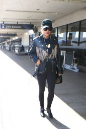 Rita Ora Airport Style - at LAX in Los Angeles, CA 3/29/2016