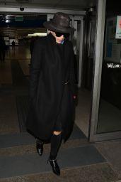 Rita Ora - Arriving in Milan, Italy 3/17/2016