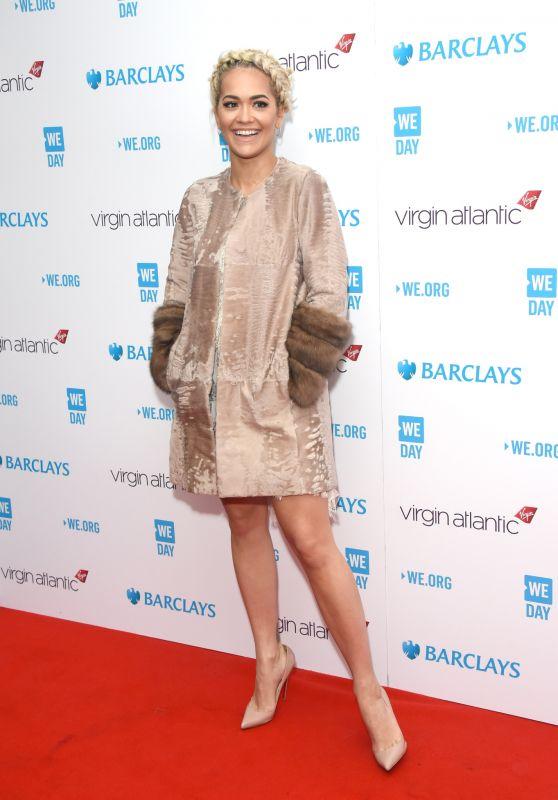 Rita Ora – We Day UK 2016 in London, UK 3/9/2016
