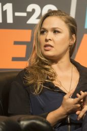 Ronda Rousey - Talks With Fans at a SXSW Unfiltered panel in Austin, TX 3/13/2016