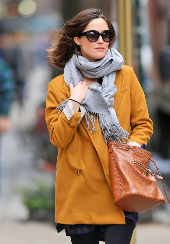 Rose Byrne Street Fashion - New York City, NY 2/29/2016