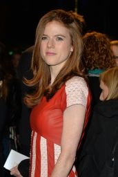 Rose Leslie - People, Places and Things Press Night in London 3/23/2016