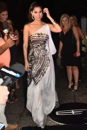 Roselyn Sanchez Night Out Style - Puerto Rico Art Museum San Juan, March 2016