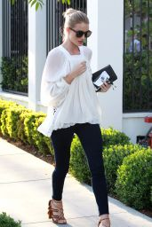 Rosie Huntington-Whiteley - Out in Los Angeles, 3/30/2016