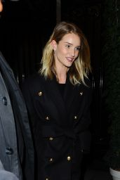 Rosie Huntington-Whiteley Out in Paris 3/2/2016