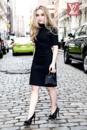 Sabrina Carpenter Street Fashion - Out in New York City 3/17/2016
