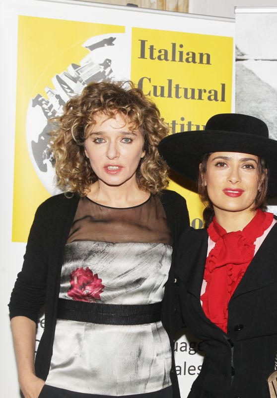 Salma Hayek & Valeria Golino - Cinema Made in Italy 2016 in London