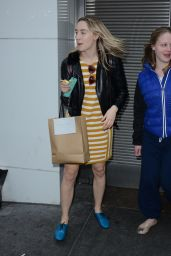 Saoirse Ronan - Outside Walter Kerr Theatre After Her Play