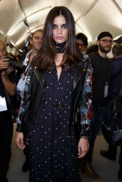 Sara Sampaio – Elie Saab Show at Paris Fashion Week, March 2016