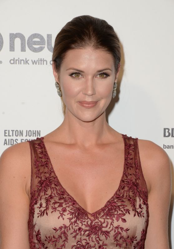 Sarah Lancaster – 2016 Elton John Academy Awards Viewing Party