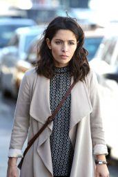 Sarah Shahi - Filming