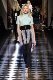 Sasha Luss – Balmain Show – Paris Fashion Week, March 2016