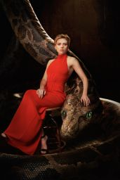 Scarlett Johansson - The Jungle Book Promo Photoshoot 2016