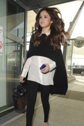 Selena Gomez at London Heathrow Airport 3/11/2016