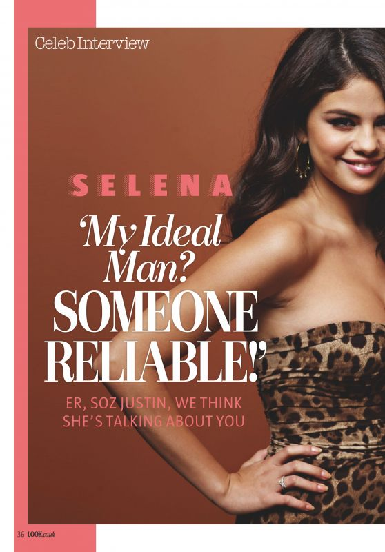 Selena Gomez - Look Magazine UK March 2016 Issue