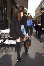 Selena Gomez - Paris Street Style 3/8/2016