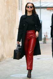 Selena Gomez Street Fashion - Leaving a Photo Studio in Paris, March 2016