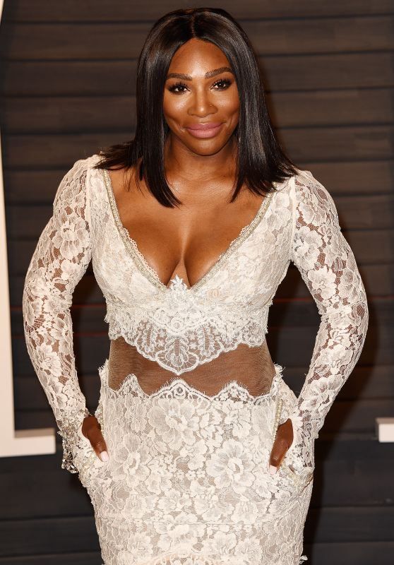Serena Williams – 2016 Vanity Fair Oscar Party in Beverly Hills, CA