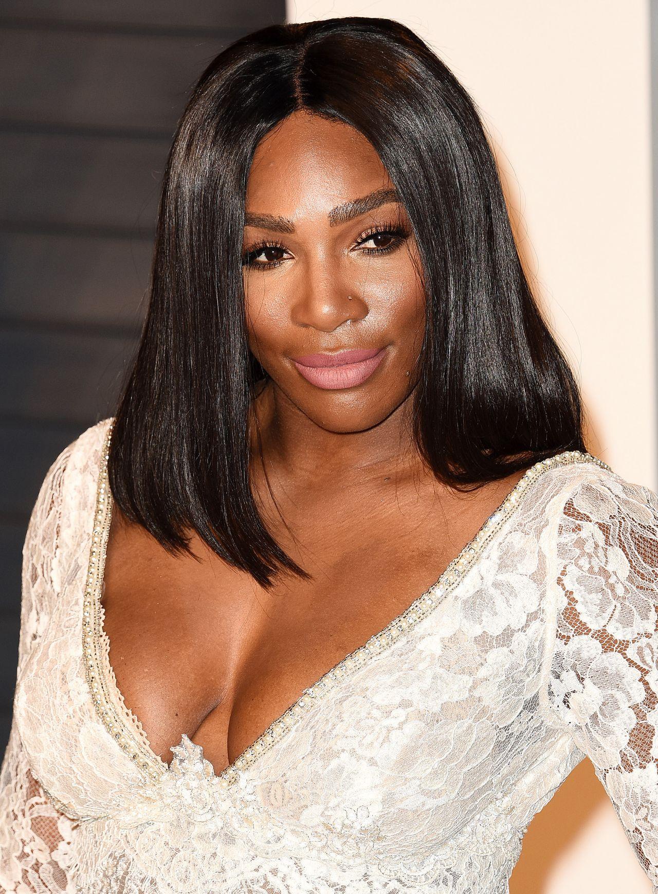 Serena Williams – 2016 Vanity Fair Oscar Party in Beverly ...