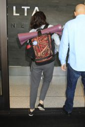 Shailene Woodley - LAX Airport in Los Angeles 3/10/2016