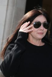 Shannen Doherty - Out in Paris 3/19/2016