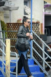 Shay Mitchell - Leaving the Gym in Los Angeles, CA  3/29/2016