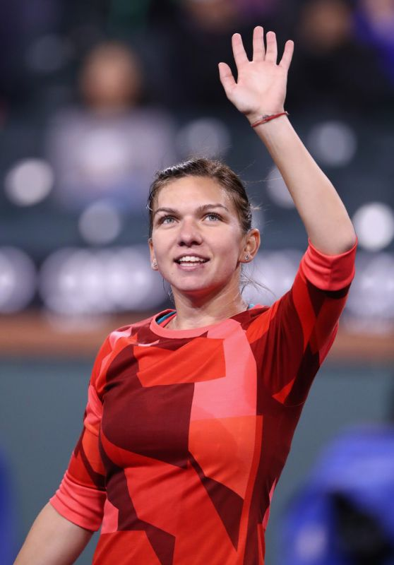 Simona Halep - BNP Paribas Open 2016 in Indian Wells