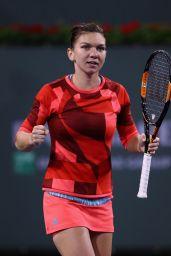 Simona Halep - BNP Paribas Open 2016 in Indian Wells