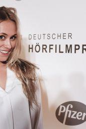 Sina Tkotsch - Deutscher Hörfilmpreis in Berlin, March 2016