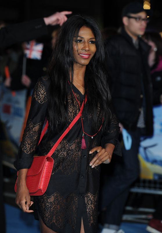 Sinitta – 'Eddie The Eagle' Premiere in London, UK