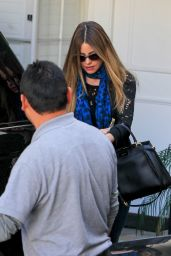 Sofia Vergara - Leaving a Salon in Beverly Hills 3/14/2016