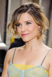 Sophia Bush at Huffington Post Live in New York City 3/8/2016