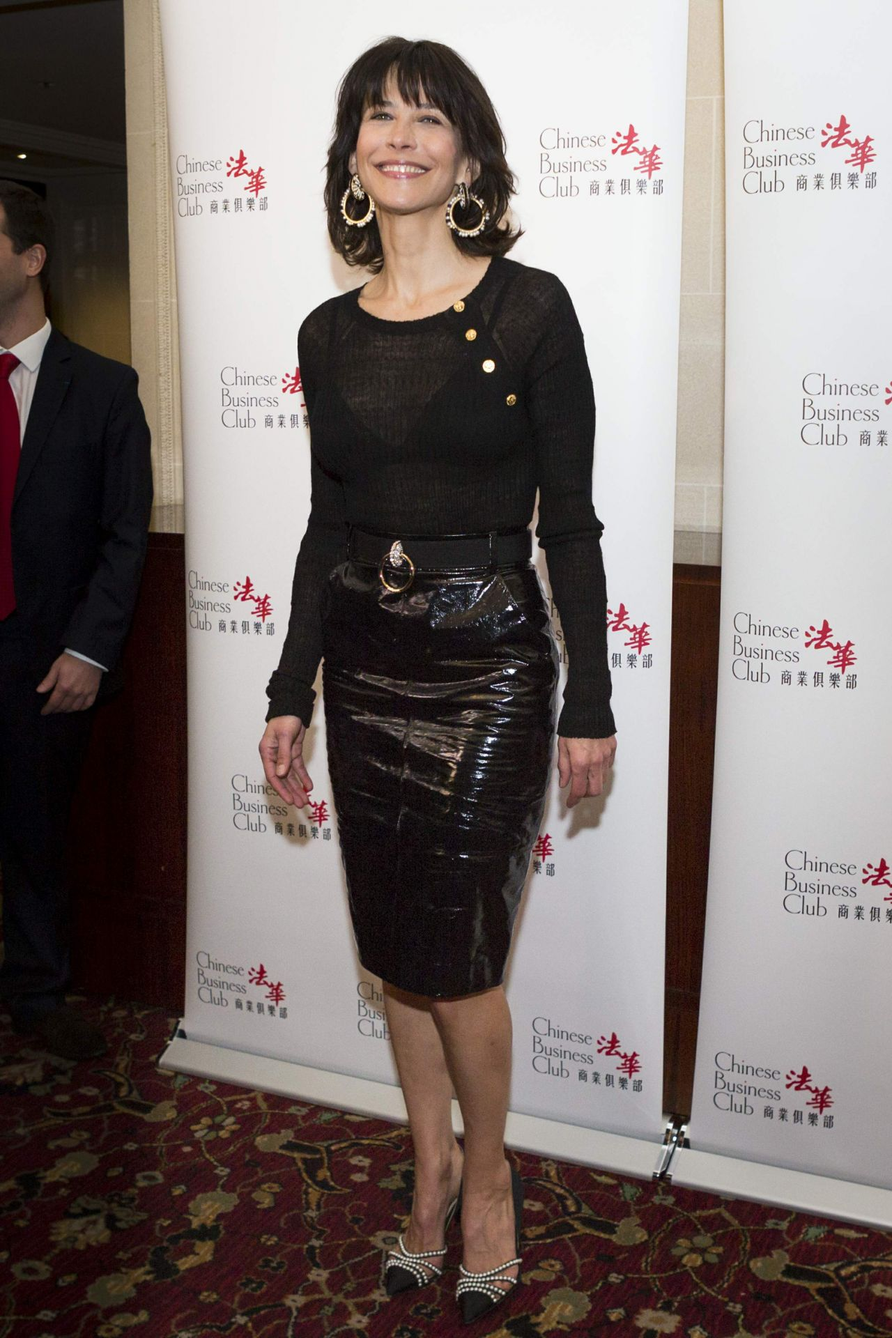 Sophie Marceau – Chinese Business Club Lunch in Paris, March 2016