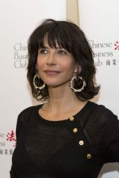 Sophie Marceau - Chinese Business Club Lunch in Paris, March 2016
